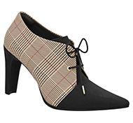 sapato padrão xadrez so pegada picadilly